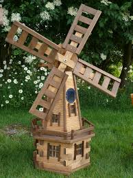 garden windmill plans home outdoor decoration