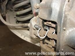 mercedes benz w210 rear brake pad disc replacement 1996 03 e320