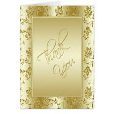 50th wedding anniversary thank you cards invitations zazzle co uk