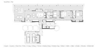 house plans by architects gallery of hinterland house shaun lockyer architects 35