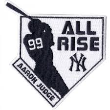 new york yankees aaron judge 99 all rise player
