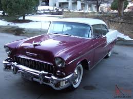 chevrolet bel air 2 dr hard top v8