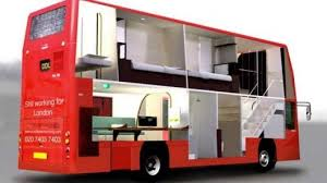 London Bus Interior Double Decker Bus Living Bus Interior Pinterest Bus Living