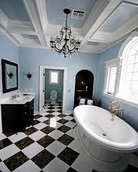 elegance glass shower frame ideas black white bathroom tile iron