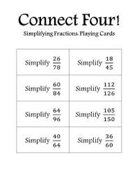 the 25 best simplifying fractions ideas on pinterest fractions