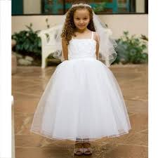 kids dream girls white size 10 tulle first communion dress