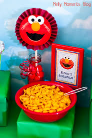 sesame street u0026 elmo themed birthday party