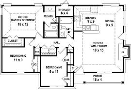 3 bedroom 2 house plans floor plan and cost of 3 bedroom 2 bath house plans groundcrew us