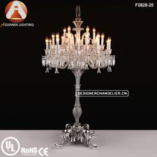 Cheap Chandelier Floor Lamp 25 Light Baccarat Crystal Chandelier Floor Lamp Home Lighting