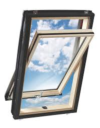 solis pine centre pivot roof window h 980mm w 540mm
