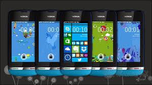 microsoft themes for nokia c2 01 fake windows phone 8 series theme asha 310 305 full touch asha 305