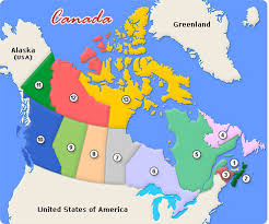 canada states map map of canada and provinces major tourist attractions maps