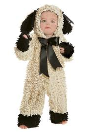 sheep costume toddler wooly