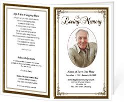 printable funeral programs funeral bulletins simple frame funeral programs templates