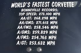 1984 corvette top speed corvette speed records