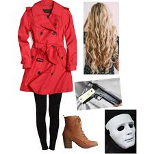 Red Coat Halloween Costume Red Coat Pll Polyvore