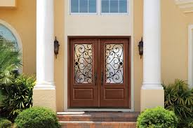 Fiberglass Exterior Doors With Glass Doors Marvellous Fiberglass Entry Doors With Glass Exciting