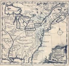 Map Of The Southern United States by 1740 U0027s Pennsylvania Maps
