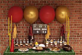 football themed baby shower sports themed baby shower vintage football tailgating party