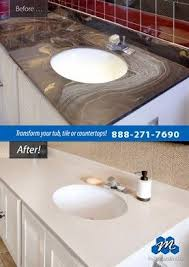refinish bathroom sink top wonderful 51 best countertop refinishing images on pinterest kitchen