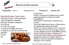recette de cuisine legere pour regime recette cookeo diététique boeuf carottes maison