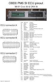 obd0 wiring diagram honda wiring diagrams instruction