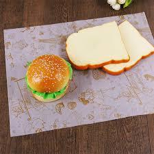 hamburger wrapping paper custom printed sandwich wrapping paper for sandwich hamburger