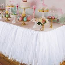 tulle decorations wedding party tulle tutu table skirt birthday baby shower wedding