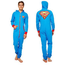 blue jumpsuit mens superman onesie jumpsuit onesies for mens clothing
