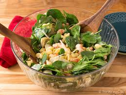 Simple Pasta Salad Recipe Shrimp Pasta Salad With Spinach And Artichokes The Weary Chef