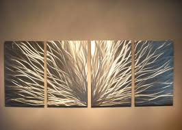 metal wall art decor abstract contemporary modern sculpture