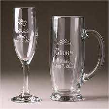 his and hers glassware toasting flutes personalized toasting flutes wedding glasses