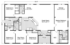 5 bedroom floor plans 2000 sq ft and up manufactured home floor plans 5 bedroom