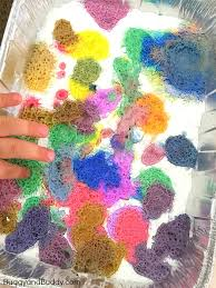 colorful colors exploring colors with baking soda and vinegar buggy and buddy