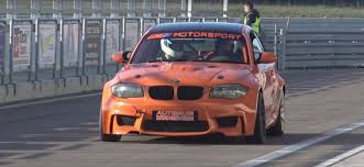 bmw drift cars v10 swapped bmw 1m coupe burns through drift laps video