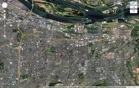 Portland Oregon Google Maps by Matt Camp Com 1978 Portland Oregon Plane Crash