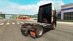 volvo light trucks light skin for volvo truck for euro truck simulator 2