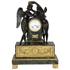 Antique Mantel Clocks Value French Empire Figural Mantel Clock Of Diana The Huntress C 1830