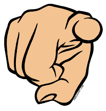Finger Pointing Meme - make meme with me pointing finger clipart