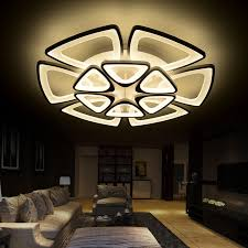 Acrylic Ceiling Light Brief Modern Multilayer Combination Acrylic Led Ceiling Light
