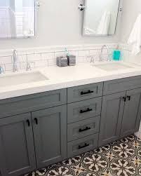 bathroom sink backsplash ideas top 70 best bathroom backsplash ideas sink wall designs