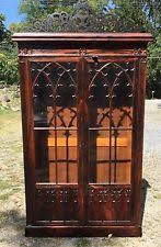 gothic antique bookcases ebay