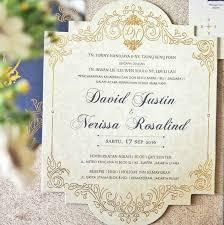 wedding invitations jakarta david nerissa wedding invitation by nitartwork design printing