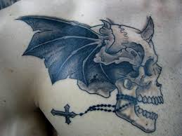 evil skull by joshdixart on deviantart