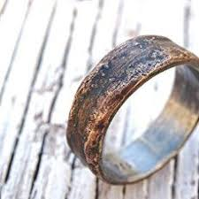 Unique Mens Wedding Rings by Rosewood Wooden Ring Handmade In Chicago Il Each Ring Is Unique