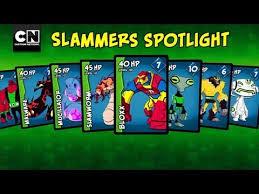 ben 10 slammers spotlight ben 10 cartoon network