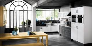 les cuisines mobalpa cuisine design noir blanc mobalpa 03