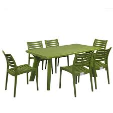 Supreme Dining Chairs Bison With Omega Mehndi Green Premium Sets