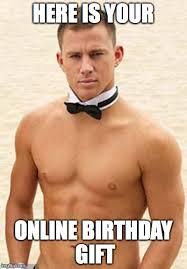 Birthday Gift Meme - happy birthday imgflip