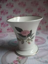 Wedgwood Vase Patterns China Small Round Vintage Rose Floral Dish By Bellemoonvintage